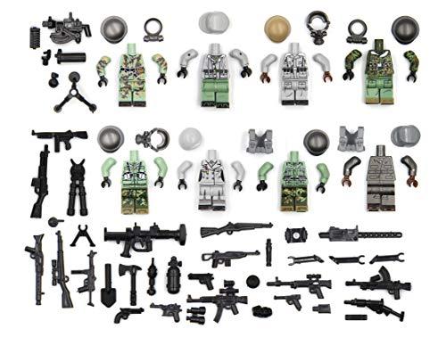 NUTTO Deutsch Ausrüstung des Weltkriegs Schlachtfeld. passend zum wichtigsten Bausteinmarken.