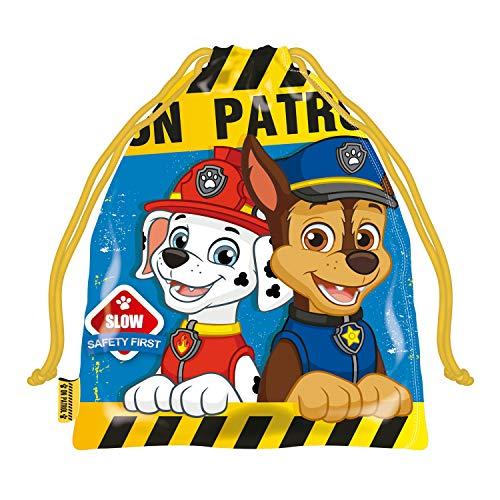 ARDITEX PW12743 Bolsa Merienda 26.5X21.5cm Nickelodeon-Patrulla