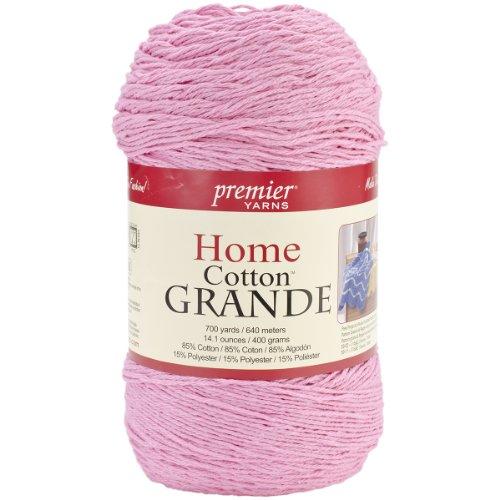 Premier Yarns Blend Home Baumwolle Grande Yarn-solid-Pastel Pink (Premier Yarn-home-baumwolle Grande)