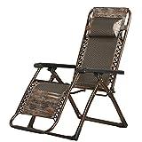 Stühle FEIFEI Sommer Kühl Recliner Folding Mittagspause Erwachsene Freizeit Hause Liegewiese Liegestühle, Garten (Farbe : 01)