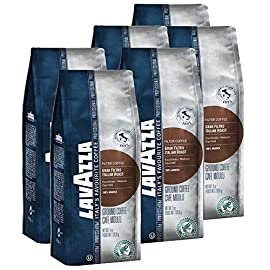Lavazza Gran Filtro Italian Roast Ground Coffee 6×226.8g