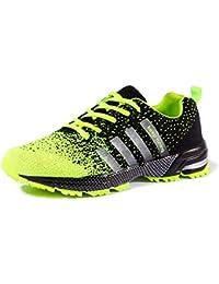 Chaussures de course running sport Compétition Trail entraînement homme femme basket ete baskets Noir Rouge bleu 35-46