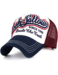 Ililily vintage style baseball casquette snapback casquette trucker filet a