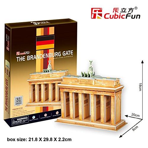 Preisvergleich Produktbild Cubic Fun 3D-Puzzle Brandenburger Toor Berlin Gate 31tlg