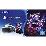 PS4: PlayStation 4 Virtual Reality + Camera + VR Worlds Voucher [neue PSVR Version]