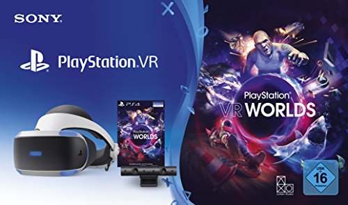 PlayStation 4 Virtual Reality + Camera + VR Worlds Voucher [neue PSVR Version] [Edizione: Germania]