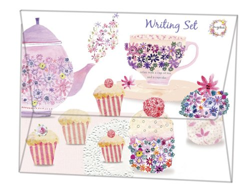 Robert Frederick Daisy Patch Set per tè, in plastica, colori assortiti