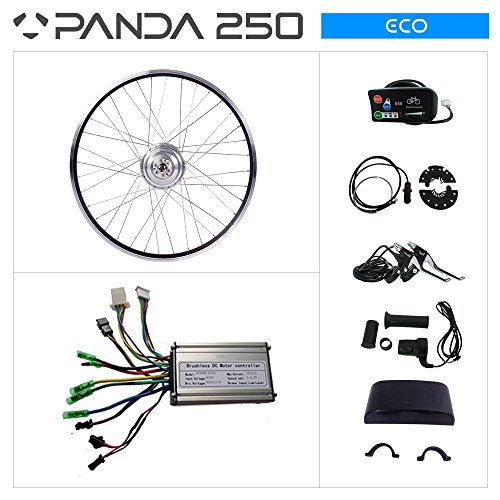 Panda 250 ECO 36 V 250 W 50,8 cm eBike Conversion Kit VORDERRADNABE Geared Motor 50,8 cm Rad