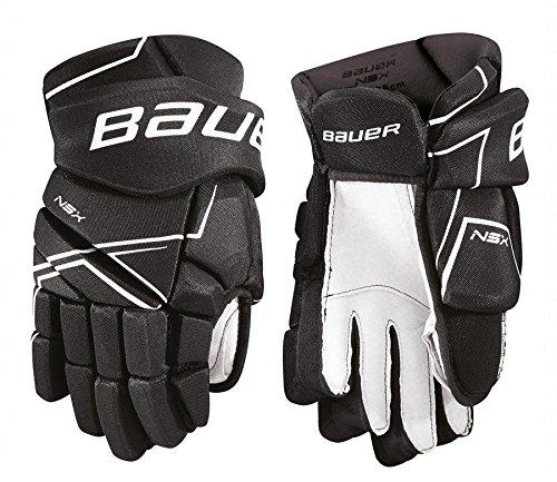 Bauer Handschuhe NSX S18 Junior Farbe Schwarz, Größe 11 Zoll -