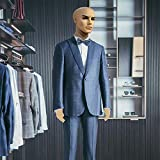 GIFTGALAXCY® Male Statue for Showroom Male(Mens) Straight Full Body Mannequin Display Dummy (Skin Colour)