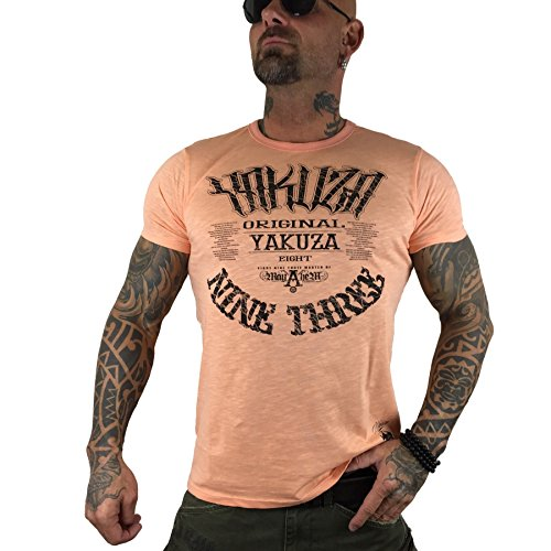Yakuza Original Herren 893 Mayhem T-Shirt papaya punch