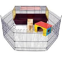 Little Friends Poco amigos interior 100 de conejo jaula con Run: ideal para conejos y