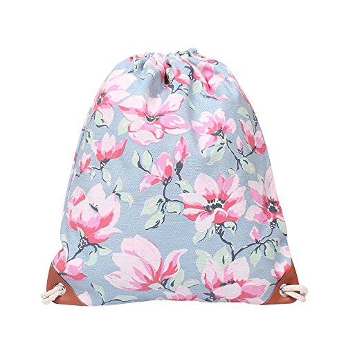 GiveKoiu-Bags - Mochilas de Lona de Alta Capacidad para niñas, para la Escuela, Venta Barata, Moda para Mujeres, Infantil, 2019699, Azul, Tamaño Libre