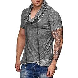 Redbridge Swag M1022 - Camiseta grande para hombre antracita M