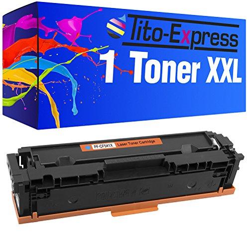 Preisvergleich Produktbild Toner Cyan PlatinumSerie® für HP CF541X Color Laserjet Pro M254DNW M254NW M254DW M280NW MFP M281FW M281FDN M281FDW MFP M 280 NW 281 FW FDN FDW M 254 NW DW DNW