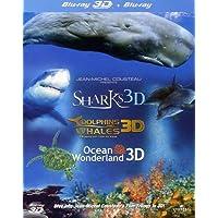 Jean-Michel Cousteau's Film Trilogy: Dolphins & Whales/Sharks/Ocean Wonderland
