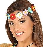 Enter-Deal-Berlin Stirnband - Hippie - mit bunten Blumen