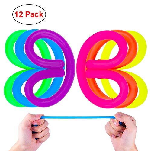 Sinnesdehnbares Schnur-Spielzeug hilft Kindern und Adluts, Angst und Druck für ADD, ADHS, Autismus zu verringern