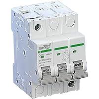 Generic 3poli Interruttore magnetotermico non polarizzato DC interruttore con certificato TUV da 1a a 63A