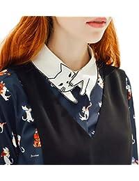 sconto professionale enorme inventario Amazon.it: gatto - Bluse e camicie / T-shirt, top e bluse ...
