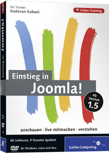 Einstieg in Joomla! Das Video-Training zur Version 1.5 - Partnerlink