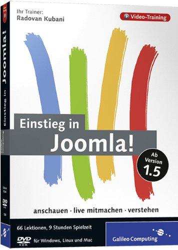Einstieg in Joomla! Das Video-Training zur Version 1.5 - Partnerlink