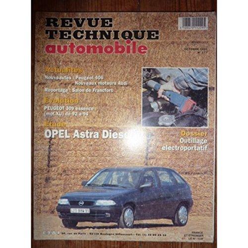 Revue Technique Automobile, n° 577 : Opel Astra Diesel