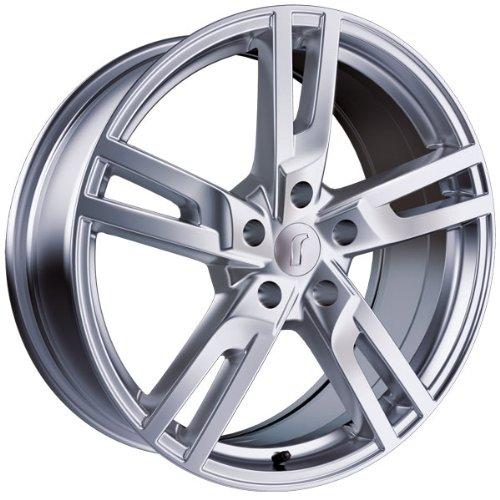 1 x Rondell Z Design 03RZ in 9,0 x 20 ET 40 LZ/LK 5 x 112 Farbe Glanzsilber für Audi A6 S6 Typ 4F, 4F1
