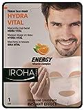 Iroha Mascarilla Facial Hidratante con Vitamina C - 3 Paquetes de 100 gr - Total: 300 gr