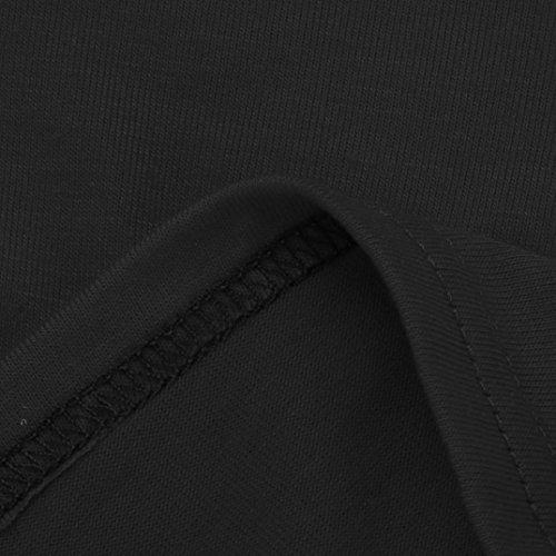 WOCACHI Damen T-Shirts Frauen Sommer Mode blusen Buchstabe Druck Kurzschluss Hülsen T-Shirt Weiß Grau