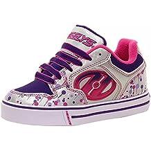 Heelys Motion Plus (770533) - Zapatillas para niños, color Red/Black/Grey/Skulls, talla 31