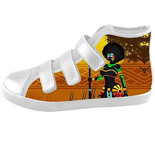 Dalliy African woman Kids canvas Footwear Sneakers Shoes Chaussures de toile Baskets C