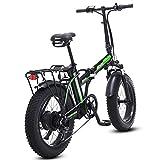 SHIJING Bicicletta elettrica 4.0 Pneumatici Grasso bikeebike elettrica Spiaggia incrociatore Bicicletta Booster Bicicletta Pieghevole Bicicletta elettrica Bicicletta elettrica 48v ebike
