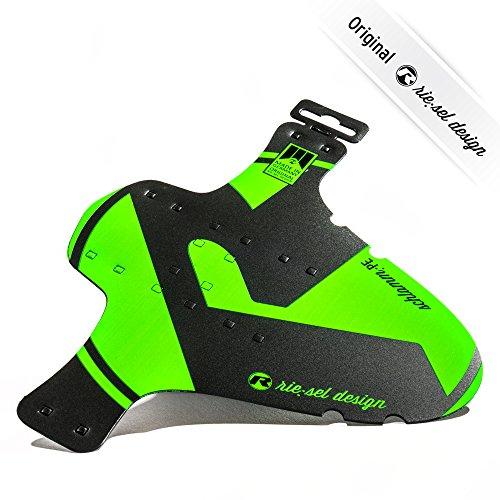 riesel design schlamm:PE Garde-Boue pour VTT Avant Pneu Aile arrière pour VTT | XC Marathon VTT | | | | Free Ride 66 cm | 27, 12,7 cm | 73,7 cm, (GREEN)