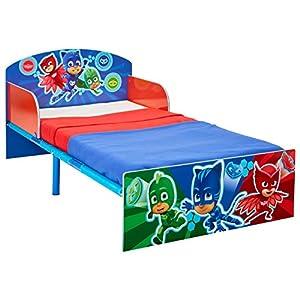 HelloHome Pj Masks Kids Toddler Bed, Wood, Blue