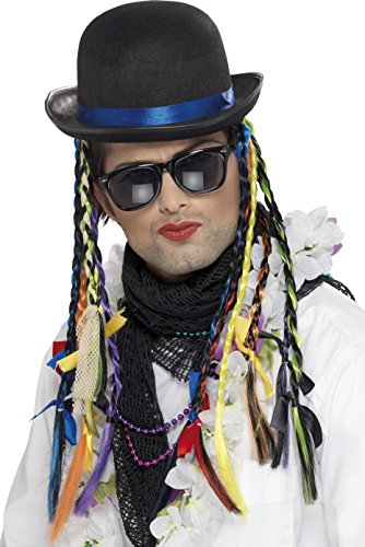 Boy George Karma Chameleon Hat with Plaits