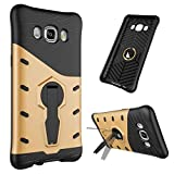 Phone Cases Covers, Für Samsung Galaxy J5 2016 J510, Hybrid Tough Robuste Dual Layer Armor Shield Schutz Stoßfest mit 360 Grad-Anpassung Kickstand Case Cover für Samsung Galaxy J5 2016 J510