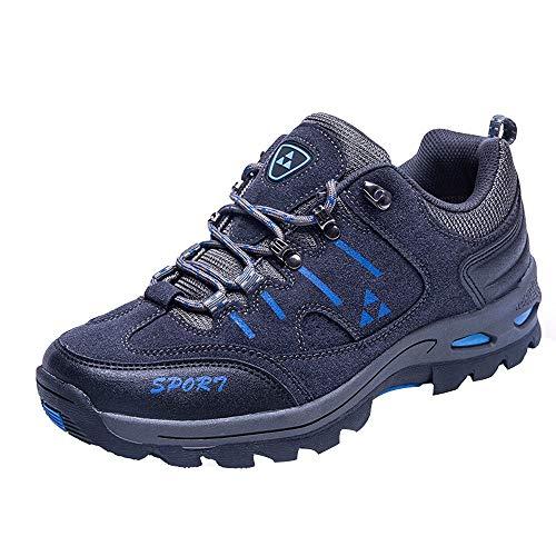 Vovotrade Herren Damen Trekkingschuhe & Wanderschuhe Wasserabweisende und Atmungsaktive Bergschuhe & Outdoor Schuhe mit Anti-Rutsch-Sohle Lace up Atmungsaktive Gepolsterte