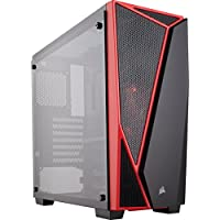 Corsair Carbide SPEC-04 Tempered Glass Black/Red Mid-Tower Gaming Case