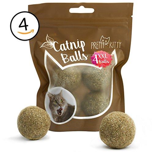 PRETTY KITTY - Palla di menta per gatti, misura XXL, confezione da 2 (2 x 95 g)