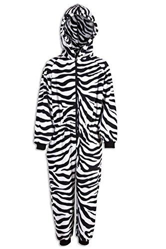 Combinaison pyjama - motif zébrures - enfant 12-14 Years