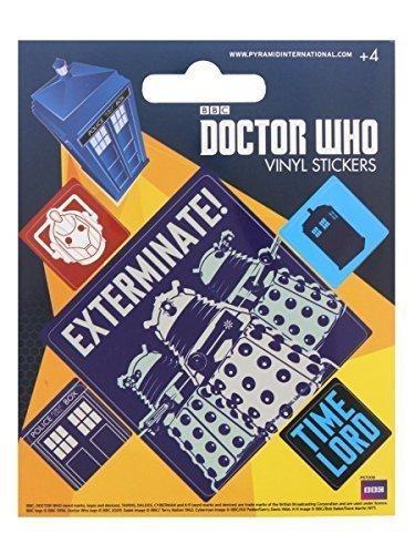 Dr-Who-Aufkleber-Set-10x125cm-Offiziell-lizenziert