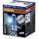 OSRAM - 32654 : Lampara H4 Night Breaker Unlimited