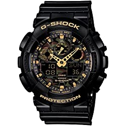 G-Shock Analog-Digital Multi-Colour Dial Men's Watch-GA-100CF-1A9DR (G519)