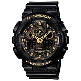 Casio G-Shock World time Analog-Digital Multi-Colour Dial Men's Watch – GA-100CF-1A9DR (G519)