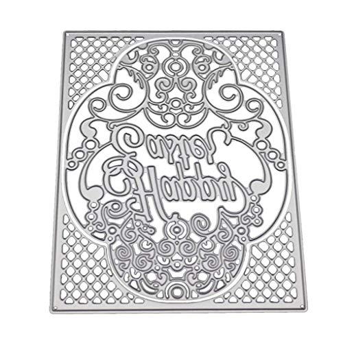 Bomcomi Prägen Malerei Zeichnung Blatt Stencil Carbon Steel DIY Fertigkeit-Album-Karte Schneideisen -