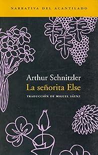 La Señorita Else par Arthur Schnitzler