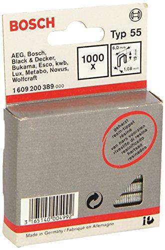 Bosch 1 609 200 389 - Grapa lomo estrecho tipo 55