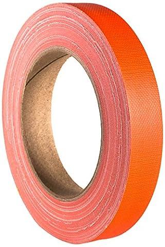 Adam Hall 58064NOR Rouleau Gaffer 19 mm x 25 m Orange Fluo