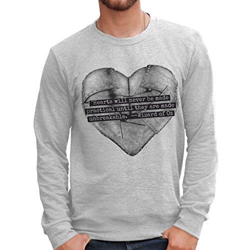 Sweatshirt Der Zauberer Von Oz Heart - Film By Mush Dress Your Style - Herren-XXL ()